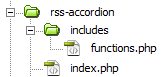 File Structure With Index.php