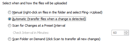 Fling Automatic Transfer File Backup