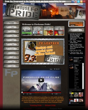 Screenshot of FirehousePride.com