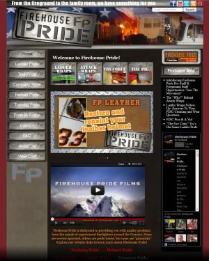 Screenshot of FirehousePride.com